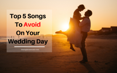Top 5 Songs To Avoid On Your Wedding Day