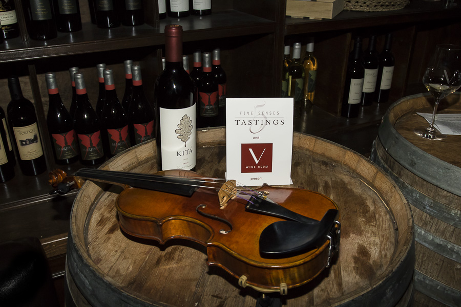 Five Senses Tastings pairing Music with Food and Wine