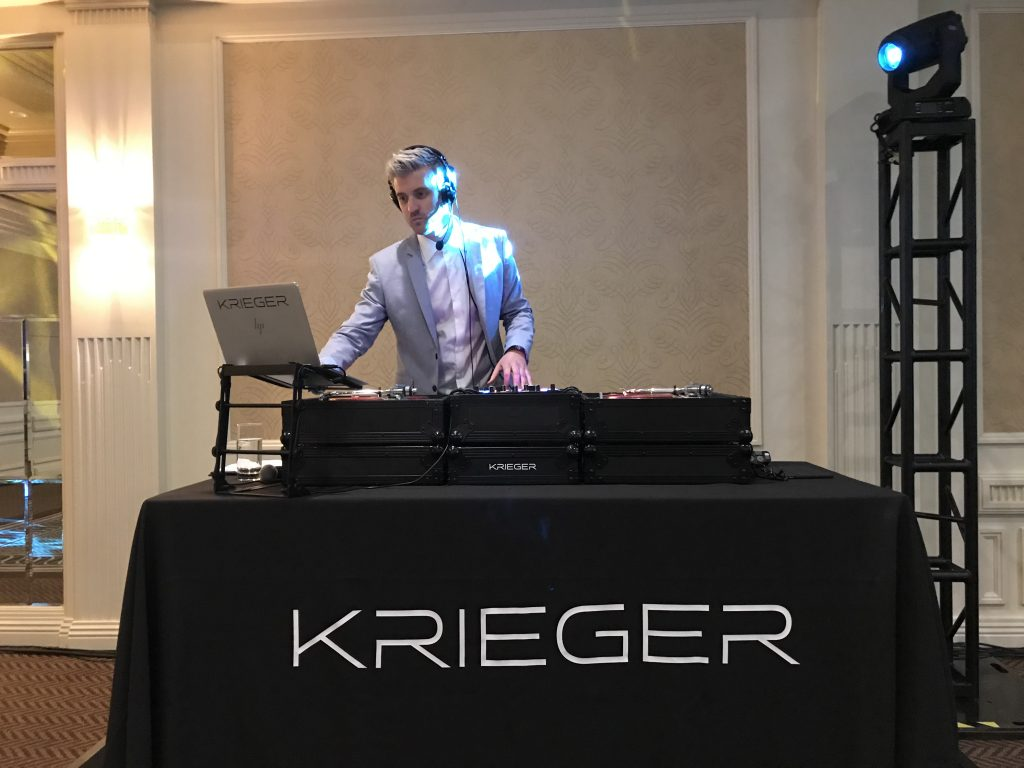 DJ Krieger rocked the ceremony and was the DJ at the afterparty.