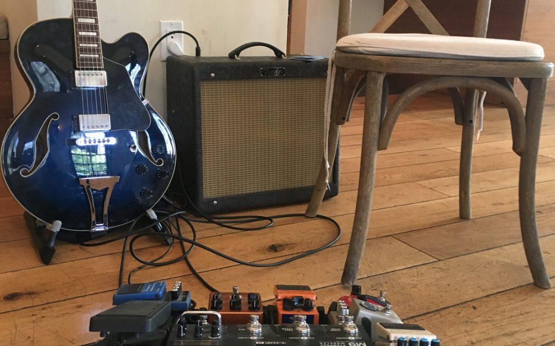 Solo Guitar at Villa & Vine in Santa Barbara