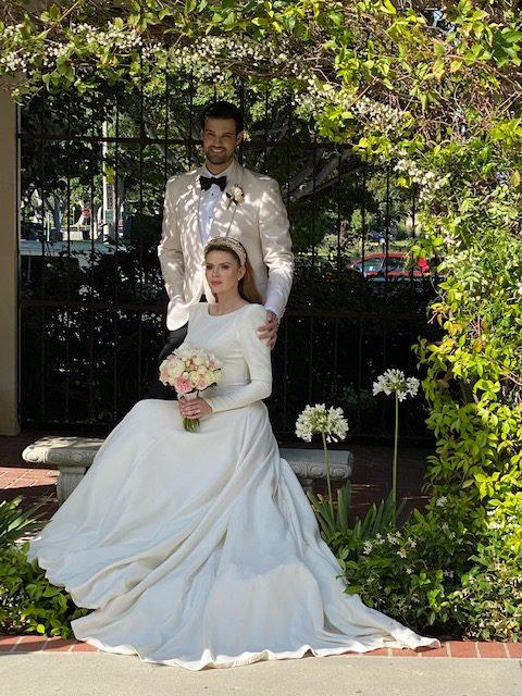 Beverly Hills Presbyterian Micro-Wedding